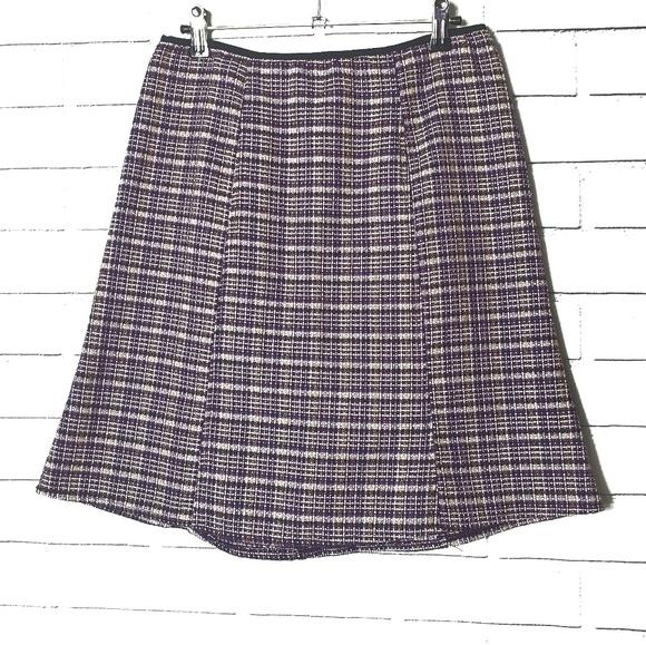 paper doll Dresses & Skirts - ⬇️ Paper doll purple plaid skirt
